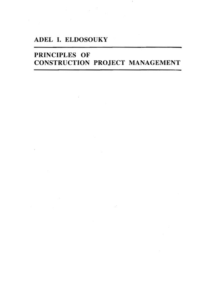 Ch 1 organization of construction projects