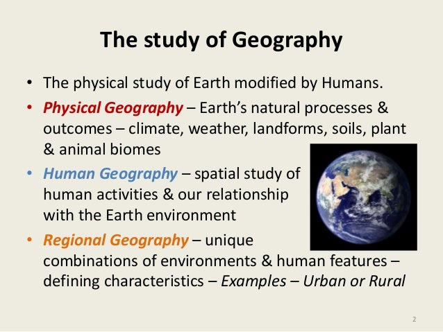 Regional geography of gb notes | Research paper Sample