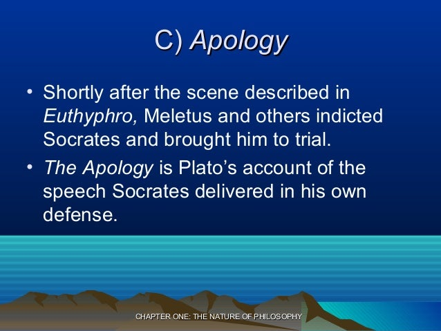 was socrates punishment described in the apology by plato just Essays - largest database of quality sample essays and research papers on socrates just and unjust.
