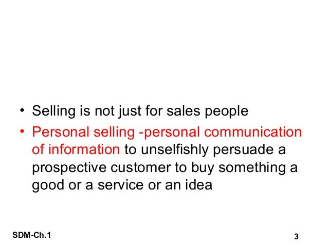 Sales & Distribution Mngmt - Introduction