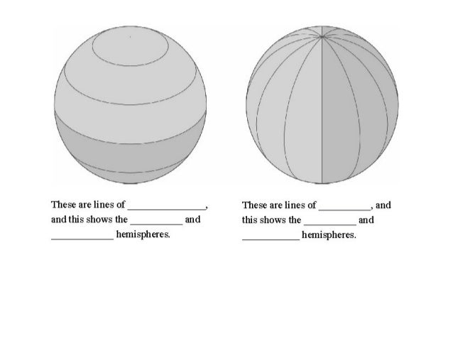 Hemispheres and Continents Lesson Plans & Worksheets