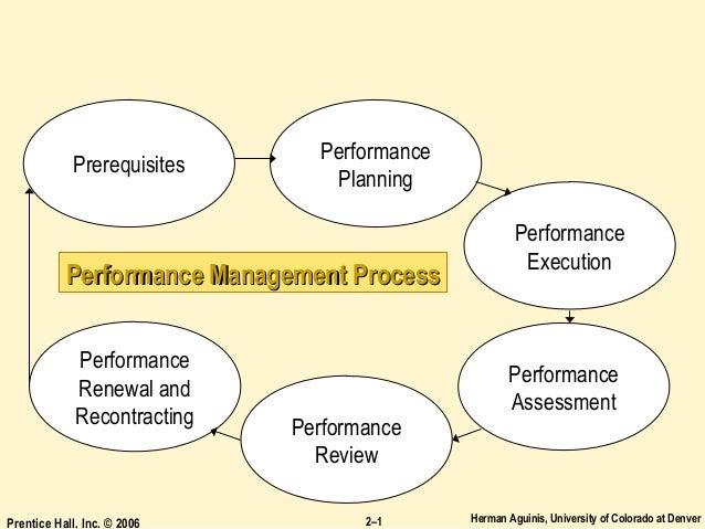 Herman Aguinis, University of Colorado at DenverPrentice Hall, Inc. © 2006 2–1 Performance Management ProcessPerformance M...