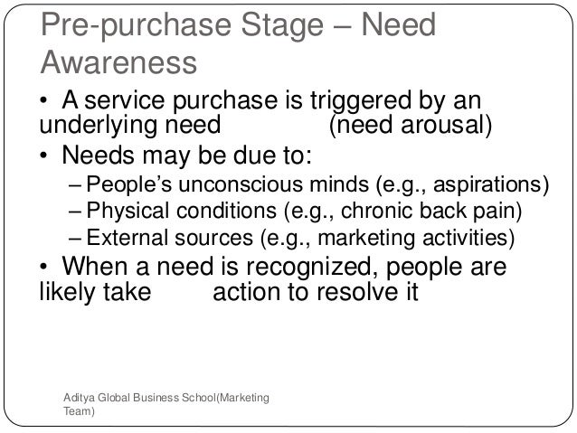 service marketing pre purchase stage The pre-purchase stage consists of all of the following activities except for documents similar to 452v1 - services marketing skip carousel carousel previous.