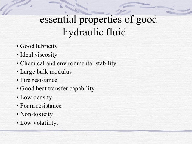 relationship between compressibility and bulk modulus of hydraulic oil