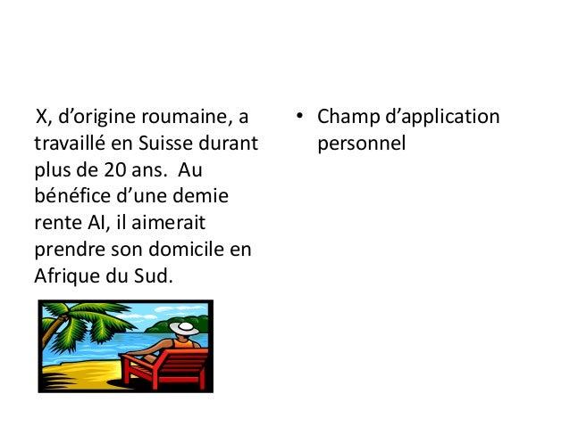 2012 - Le cas pratique Slide 3