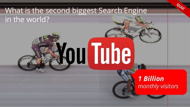 What is the second biggest Search Engine in the world? QUIZ 1 Billion monthly visitors