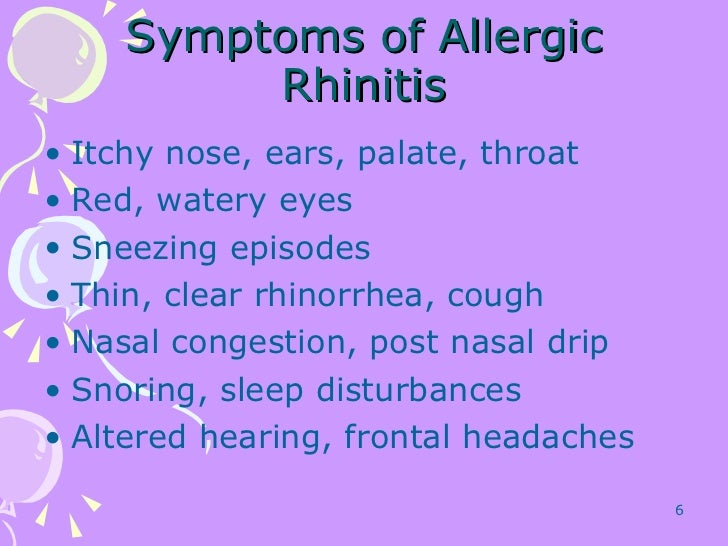 Allergy Cough And Cold Treatments