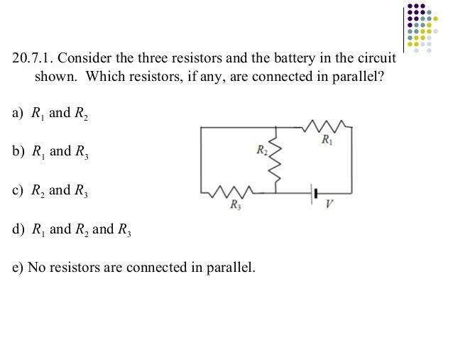 Ch 20 Electric Circuits