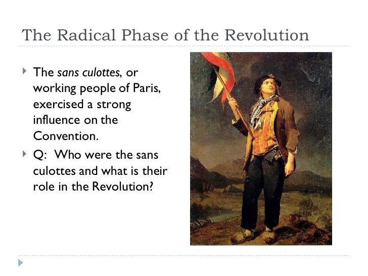 french revolution more radical then the Second, the french revolution was much more radical than the american revolution the american revolution was not aiming for a fundamental change in the structure of society.