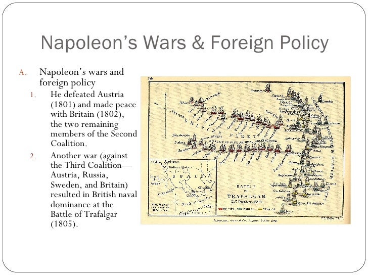 an overview of napoleon bonapartes domestic policy Napoleon bonaparte (1769-1821): french general and emperor napoleon i ranks as one of the world's great conquerors in addition to conquest, his legal and.