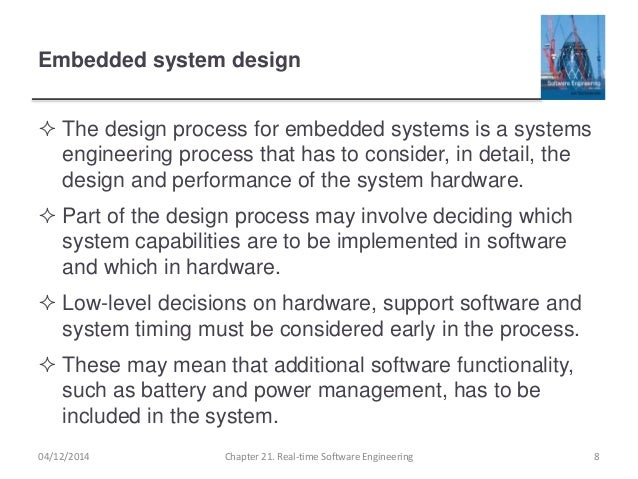 Ch21 Real Time Software Engineering