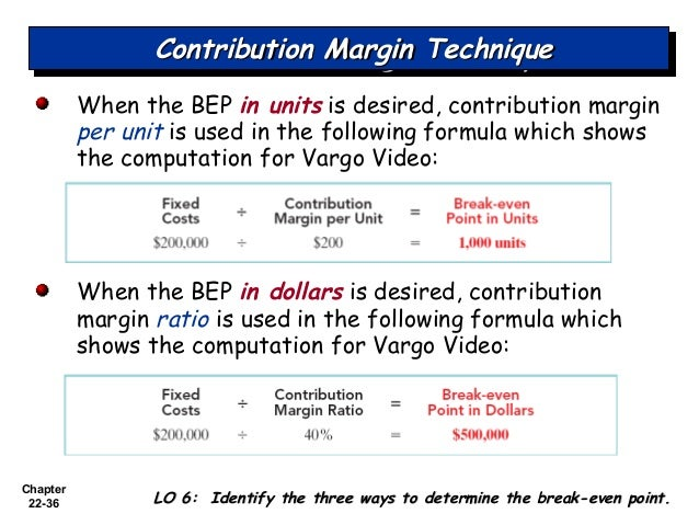 what is controllable margin