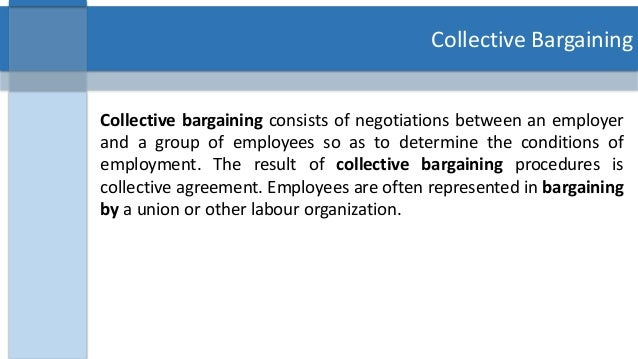 the issue of wages and benefits in collective bargaining agreement The benefits of collective bargaining for professionals many of these collective bargaining agreements set a wage the agreement reflects issues of particular.
