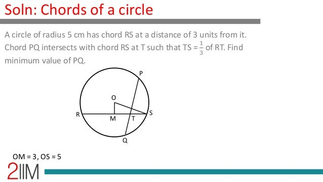 Geometry - Chords of a circle