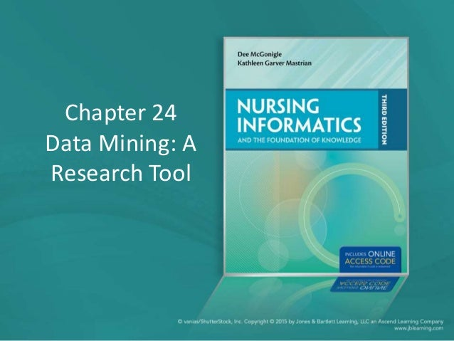 Chapter 24 Data Mining: A Research Tool
