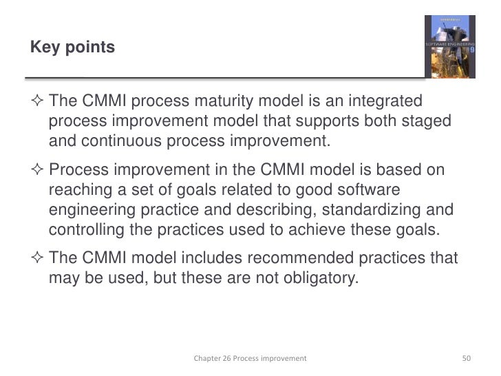 cmmi disadvantages Cmm (capability maturity model) question: choose one of the three process improvement initiatives (cmm, iso 9000, spice) and review the advantages and disadvantages of using it in a small organization and a large organization include references for your research including two references to conferences specifically dealing with that initiative.