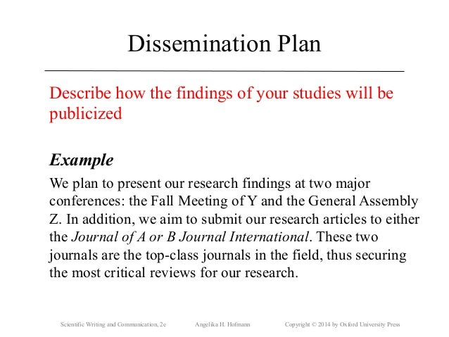 Research methods proposal example