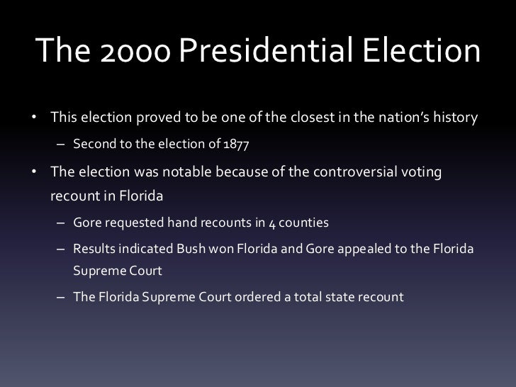 So, who really won? What the Bush v. Gore studies showed