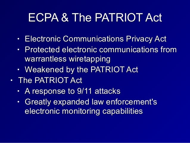 Image Result For Electronic Communications Privacy Acta