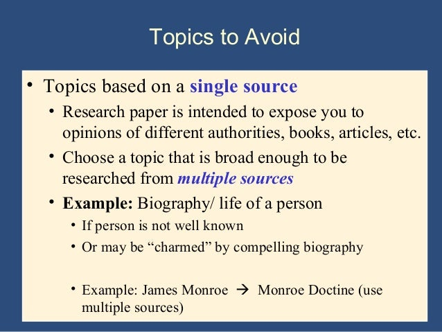 How to Choose a Research Paper Topic That Wins Big   Essay Writing SlidePlayer