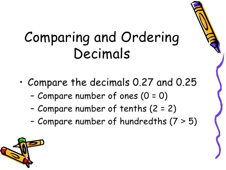 Free Worksheets Ordering Decimal Numbers Worksheets Ks2 Free – Comparing and Ordering Decimals Worksheet