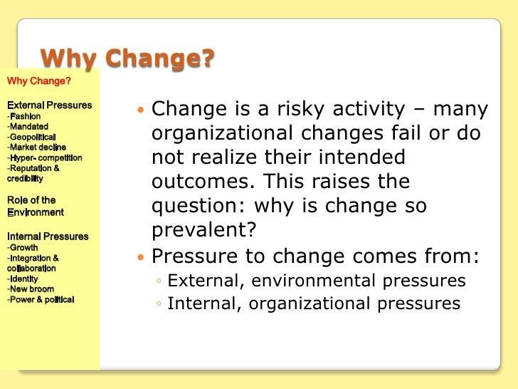 Managing Organizational Change Chapter 2 Images of Managing Change.