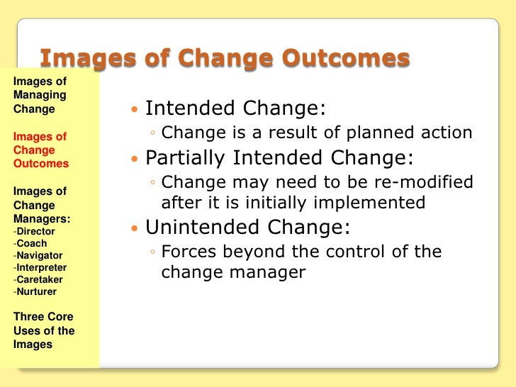 change manager as an interpreter Change management is the ability to deal with change within your organization from the largest corporation to the smallest, every organization has to go through this here are three real-world examples of how these companies successfully implemented change management practices.