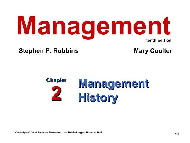Management history module ppt video online download.
