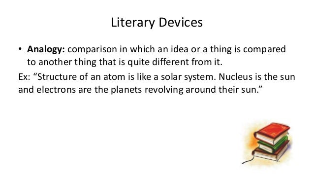 Literary Devices O Analogy