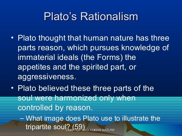 three parts of the soul according to plato
