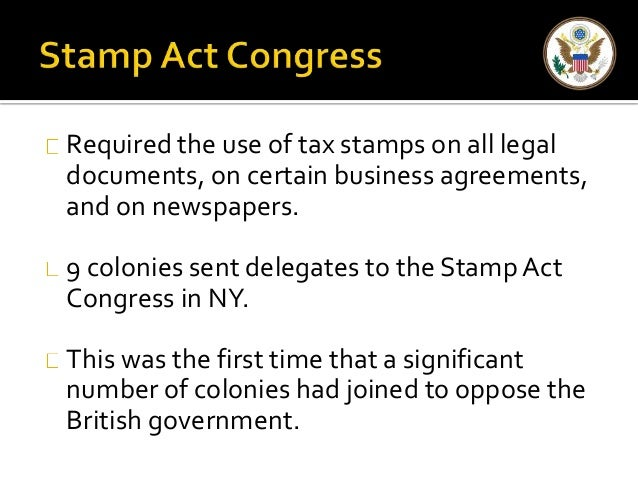 stamp act congress essay The stamp act congress the sons of liberty would play an important role later during the american revolution people burning the stamped paper by unknown.