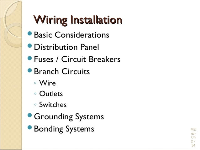 electrical wiring practices and diagrams wiring installationwiring installation iuml130151basic