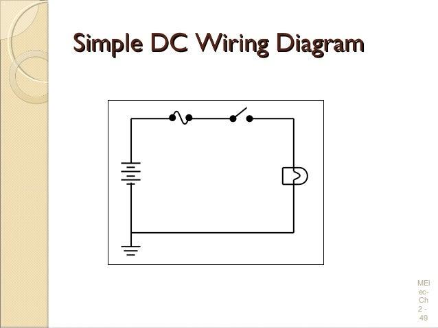 basic dc wiring diagram automotive wiring diagram library u2022 rh seigokanengland co uk