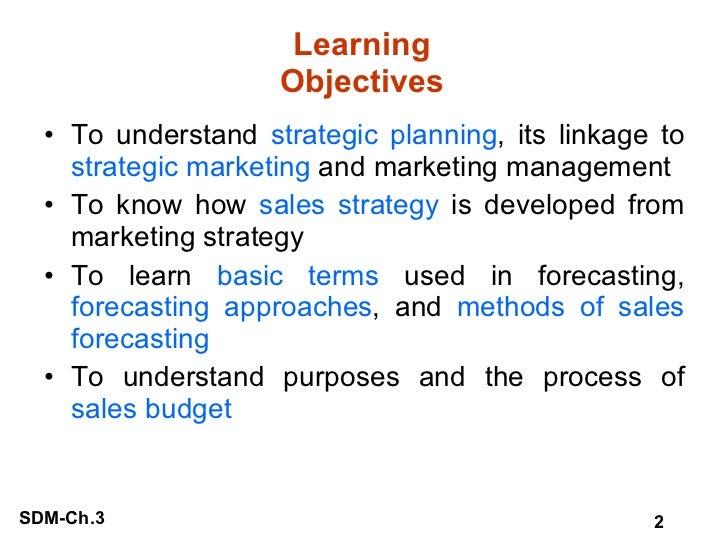 Learning Objectives <ul><li>To understand  strategic planning , its linkage to  strategic marketing  and marketing managem...