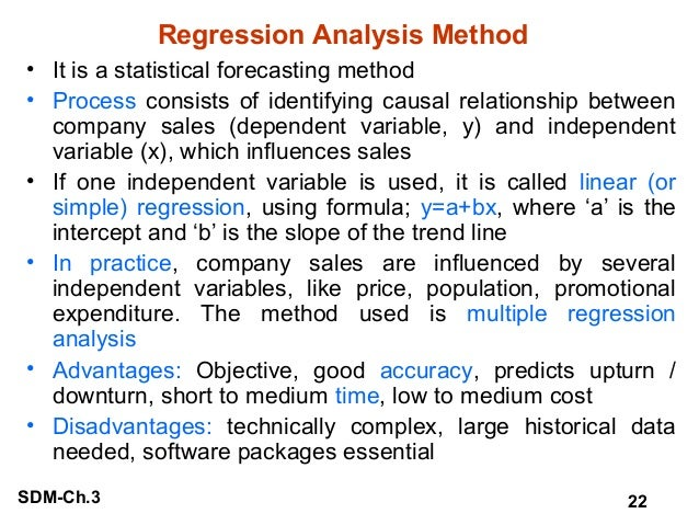 an analysis of the technique of regression analysis Learn, step-by-step with screenshots, how to run a multiple regression analysis in stata including learning about the assumptions and how to interpret the output.