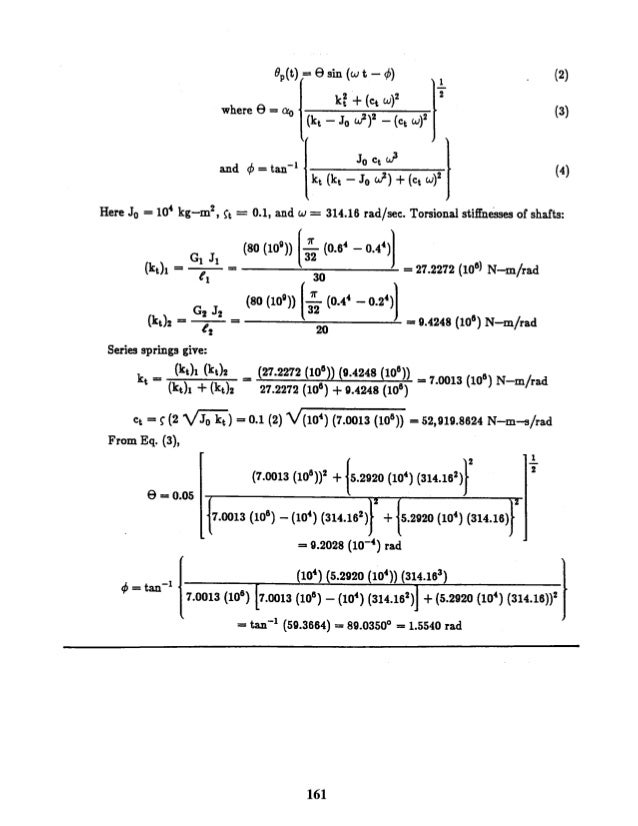 mechanical vibrations rao 5th solution manual