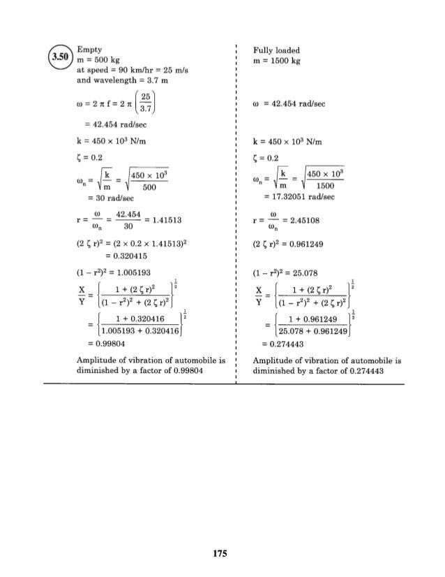 fundamentals of vibrations solutions manual pdf