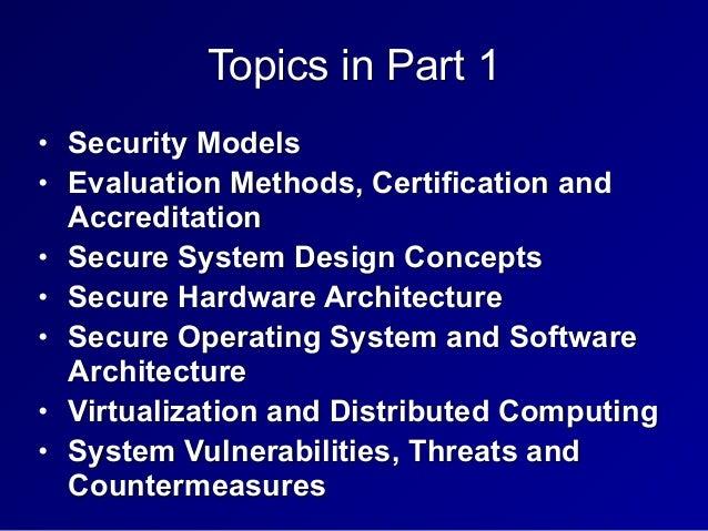 3. Security Engineering Slide 2