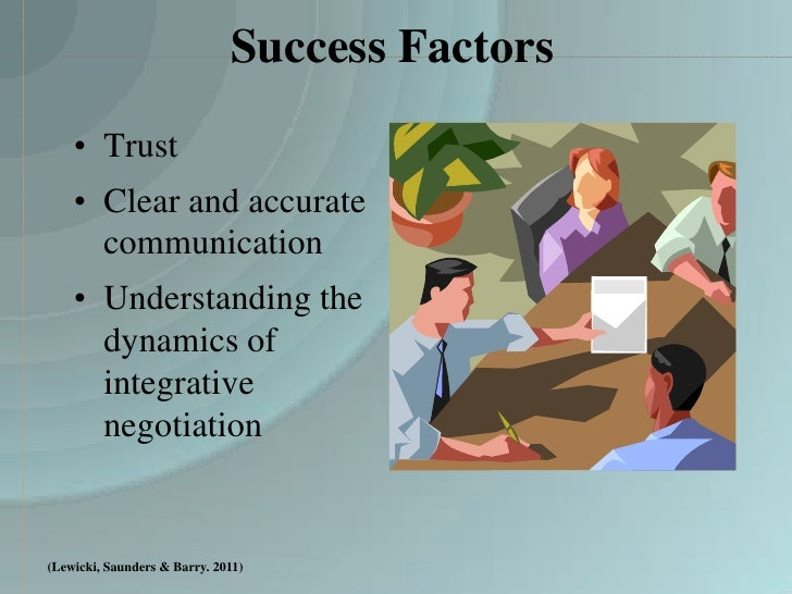 negotiation integrative negotiation How can you create value and setup a win-win situation for both parties in a  negotiation make use of these bargaining techniques the next.