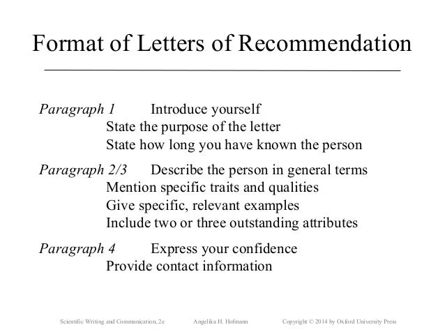 Professional Recommendation Letter Sample: Letter Of Recommendation Postdoc Sample