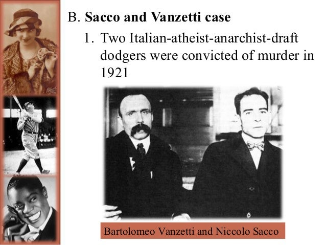 Talk:Sacco and Vanzetti/Archive 1