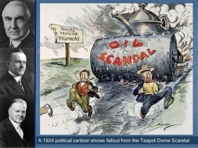 Teapot Dome Scandal Ap Us History Bruin Blog