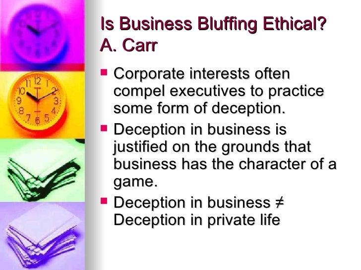 Poker analogy business ethics casino midas avis