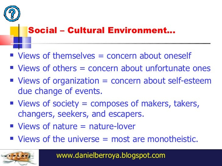 society shapes the beliefs values and norms that largely define tastes and preferences Culture is now commonly defined as the set of values and beliefs people  (both  nature and society) works as well as the norms of behavior derived from that set  of values  cultivate and express their own preferences, feelings, ideas, and  abilities,  people in embedded cultures comes largely through social  relationships,.