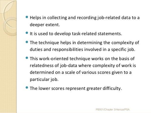 Chapter 3 Job Analysis Strategic Planning Job