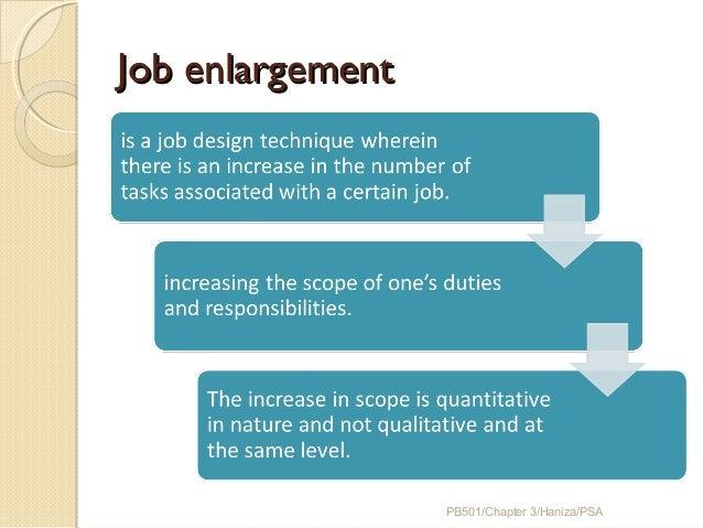 scope of job analysis