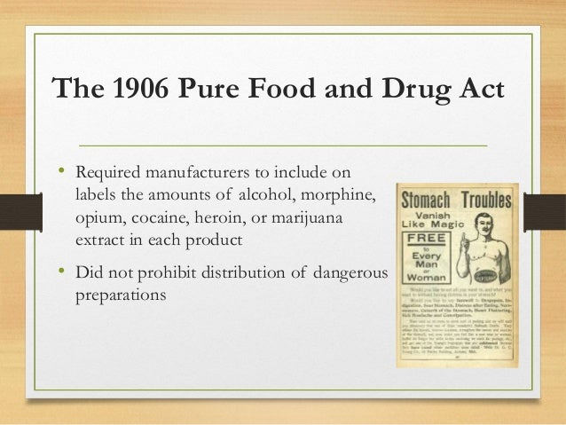 The dangers of the patent medicines and the pure food and drug act