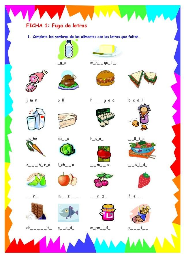 Alimentosa1 for Comidas con d