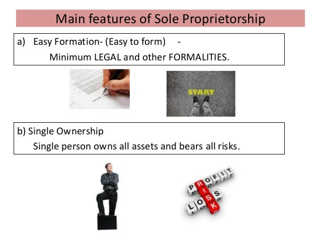The Features of a Sole Proprietorship