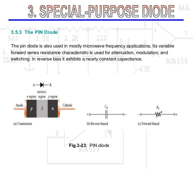 Special Purpose Diode